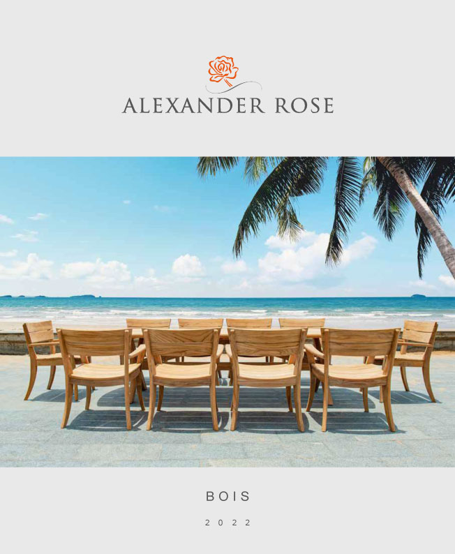 Catalogue Bois Alexander Rose