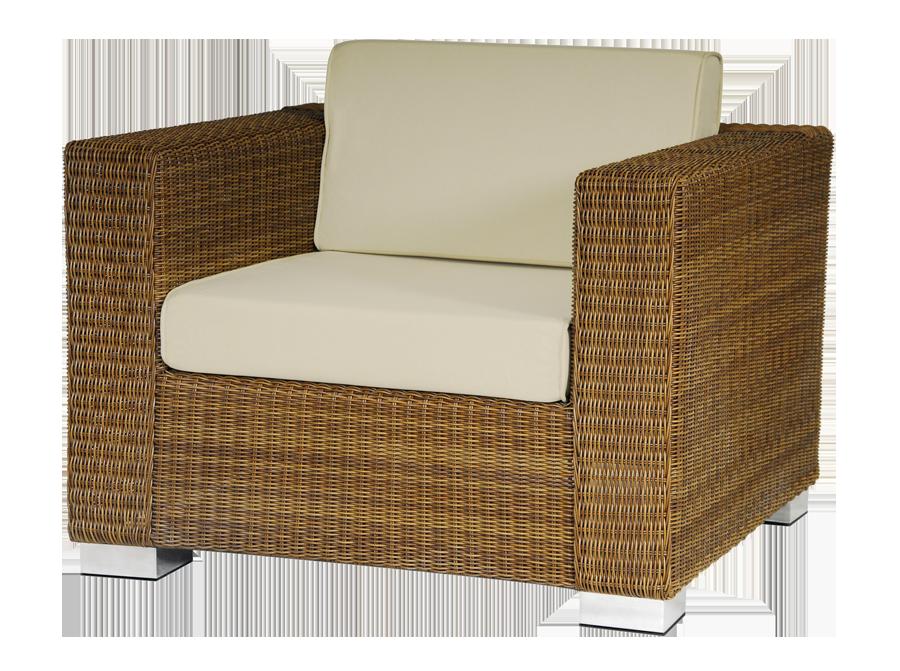 Fauteuil salon san marino avec coussins for Salon avec fauteuil