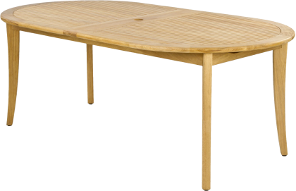 Table extensible en Roble FSC 1.10 x 2.0/2.9 m