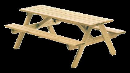 Table pique-nique Contract 1.80 x 1.30 m