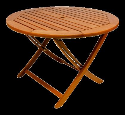 Table pliante ronde diamètre 1.1 m