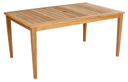 Table rectangulaire Heritage en Mahogany FSC