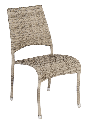 Chaise Fiji Ocean Pearl empilable