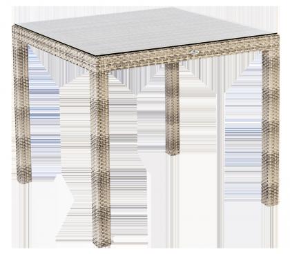 Table carrée Fiji Ocean Pearl 81 x 81 cm