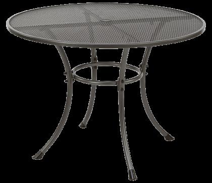 Table ronde Portofino diamètre 1.05 m