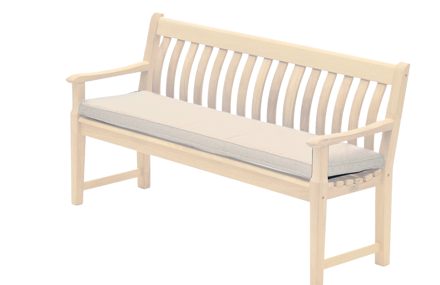 coussin pour banc 1 5 m coloris avoine charbon ou vert. Black Bedroom Furniture Sets. Home Design Ideas