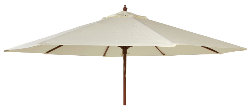 parasol bois rond diam tre 3m tube 38mm vert ecru taupe. Black Bedroom Furniture Sets. Home Design Ideas