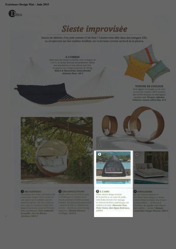 Extérieurs Design - Mai-Juin 2015