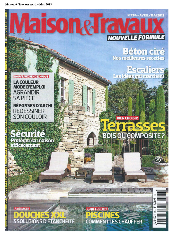 Maison & travaux - Couverture - avril-mai 2015