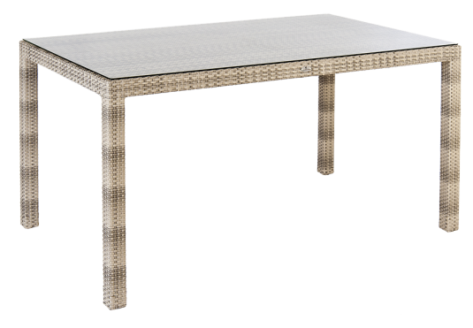Table Ocean Pearl rectangulaire 0.8 x 1.35 m