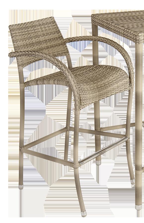 tabouret de bar fiji ocean pearl. Black Bedroom Furniture Sets. Home Design Ideas