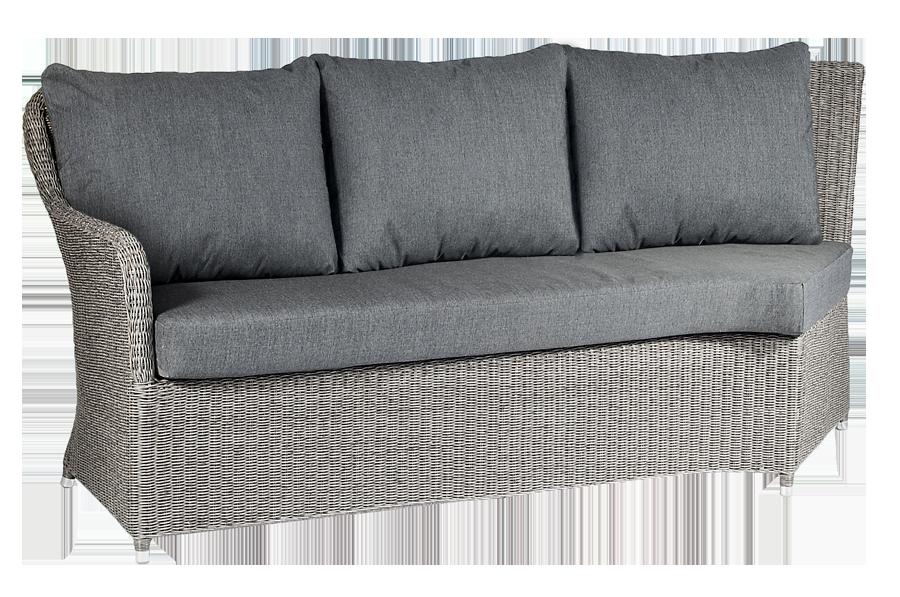 module gauche pour canap d 39 angle monte carlo avec coussins. Black Bedroom Furniture Sets. Home Design Ideas