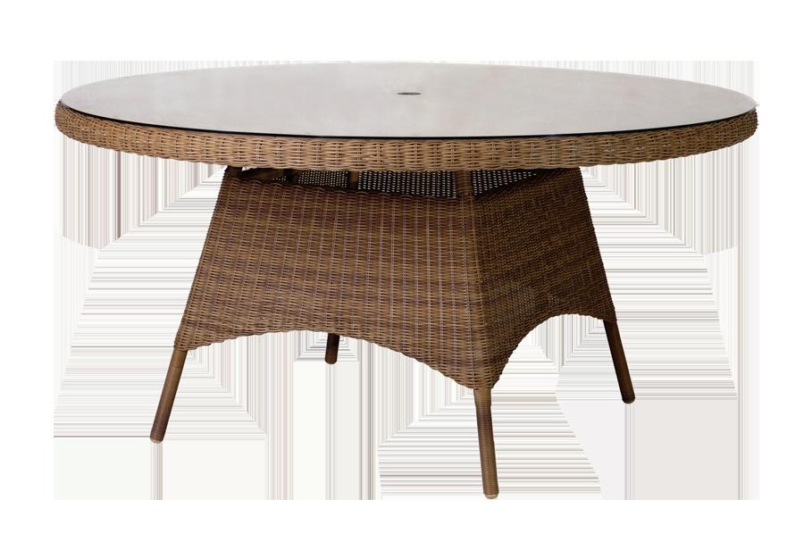 Table ronde plateau verre great beau table ronde plateau verre pied central collection avec - Table en verre transparent ...