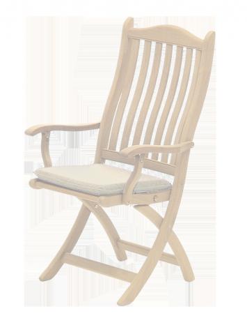 Coussin pour chaise coloris avoine charbon ou vert