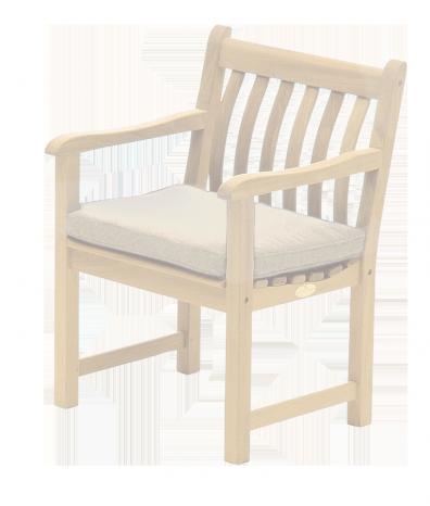 Coussin pour fauteuil coloris avoine charbon ou vert