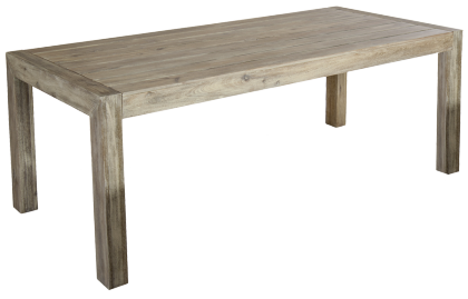 Table rectangulaire en acacia FSC