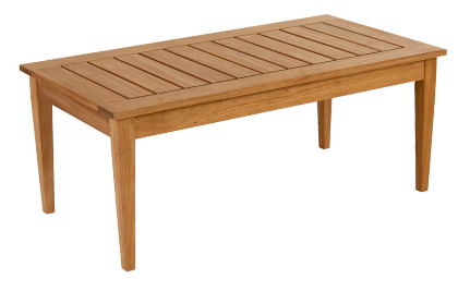 Table basse rectangulaire Heritage en Mahogany FSC