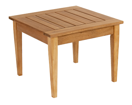 Table basse carrée Heritage en Mahogany FSC