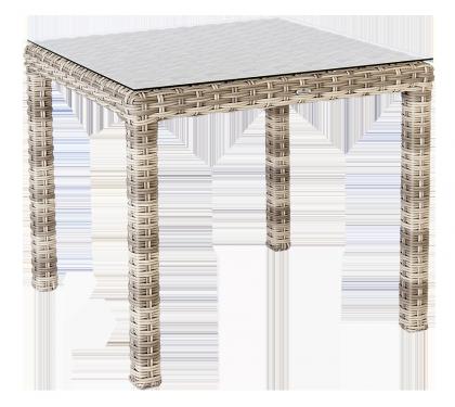 Table carrée Kool 80 x 80 cm