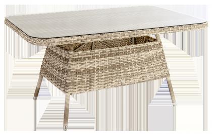Table Kool rectangulaire 150 x 90 cm