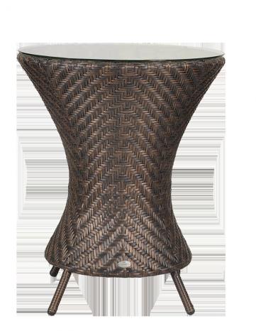 Petite table ronde diam 0.6 m sans sur-plateau verre