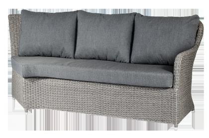 Module droit pour canapé d'angle Monte Carlo avec coussins