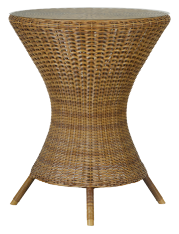 Petite table Bistro diamètre 60 cm San Marino sans plateau verre