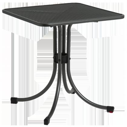 Table carrée Portofino bistro 0.7 x 0.7 m 4 coloris au choix