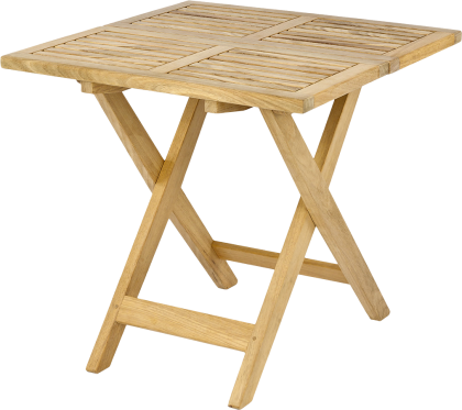 Table d'appoint en Roble FSC 0.53x0.53M