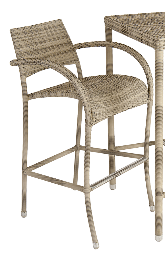 tabouret de bar fiji ocean pearl chaises produits. Black Bedroom Furniture Sets. Home Design Ideas