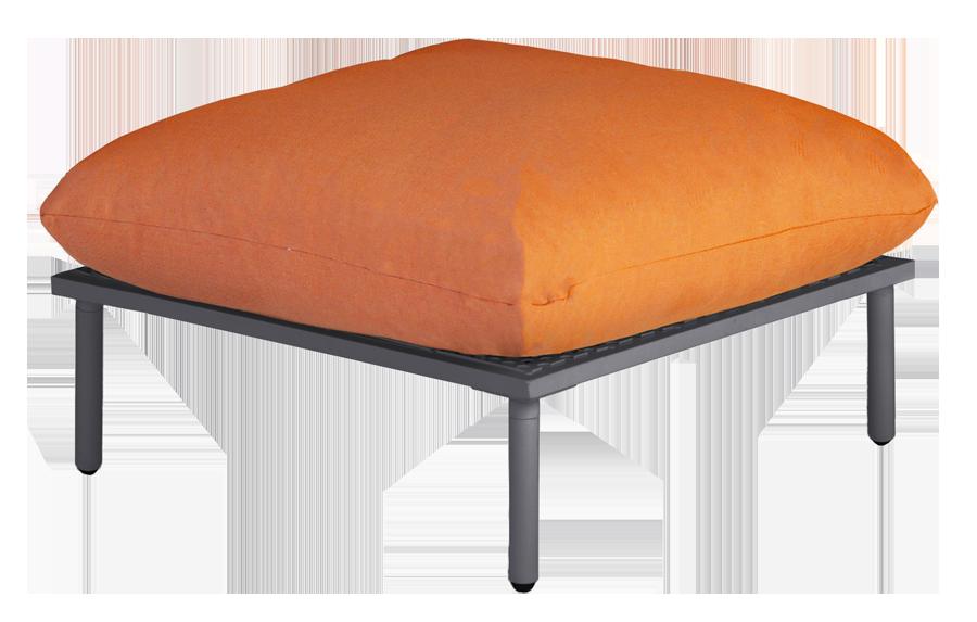 repose pieds gris anthracite pour salon beach avec. Black Bedroom Furniture Sets. Home Design Ideas
