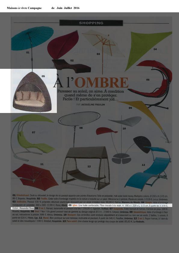 Maisons à vivre Campage - Juin-Juillet 2016